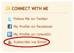 Subscribe via Email